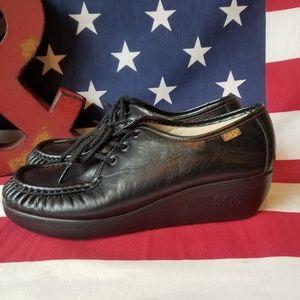 SAS Comfortable General Leather Comfort Shoe